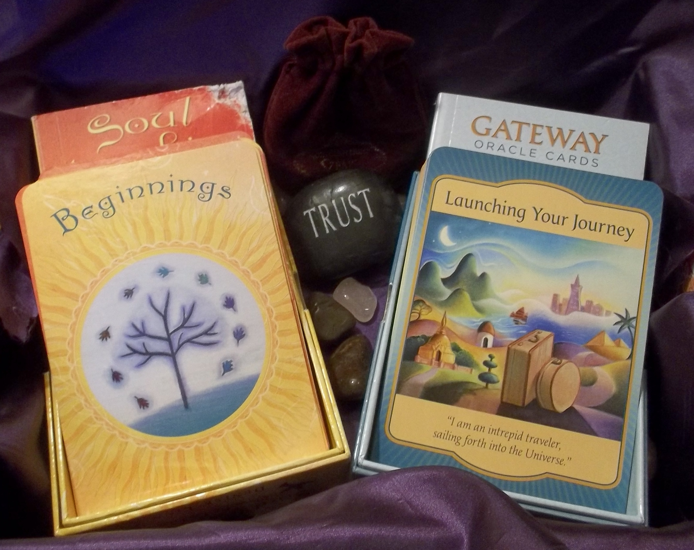 Soul Coaching Oracle Cards & Gateway Oracle Cards by Denise Linn (pub: Hay House)