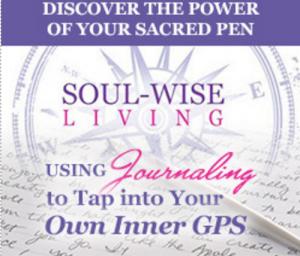 journaling, laura clark, soul wise living, inner gps