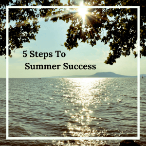 5_steps_Summer_Success