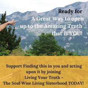 Living Your Truth and Personal vision